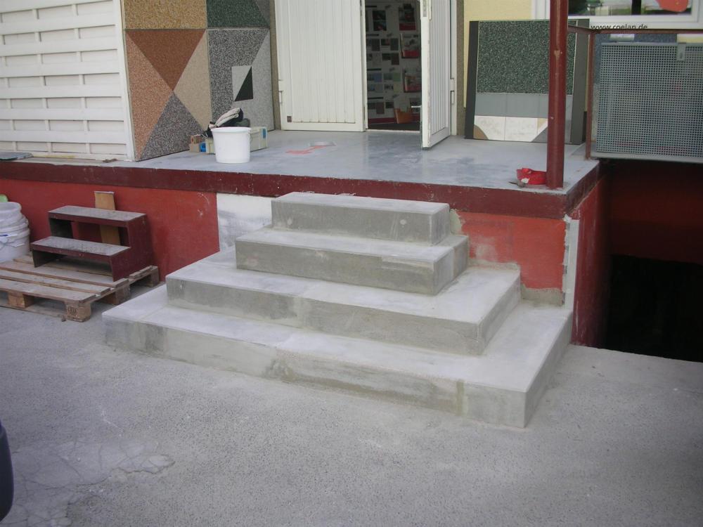 Treppenbeschichtung